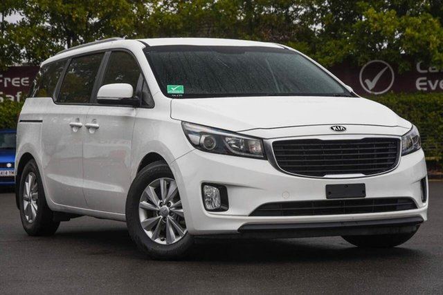 Used Kia Carnival YP MY16 SI, 2016 Kia Carnival YP MY16 SI White 6 Speed Sports Automatic Wagon