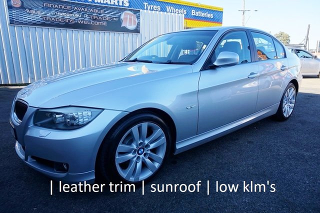 Used BMW 3 Series E90 MY09 320i Steptronic Executive, 2008 BMW 3 Series E90 MY09 320i Steptronic Executive Titanium Silver 6 Speed Sports Automatic Sedan