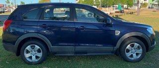 2010 Holden Captiva CG MY10 SX Blue 5 Speed Sports Automatic Wagon.