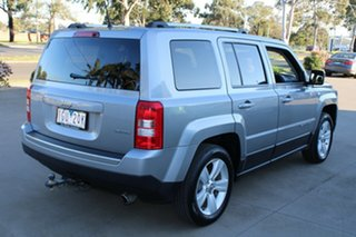 2016 Jeep Patriot MK MY16 Limited (4x4) Silver 6 Speed Automatic Wagon