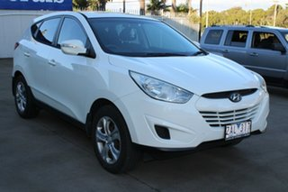 2012 Hyundai ix35 LM MY11 Active (FWD) White 5 Speed Manual Wagon.