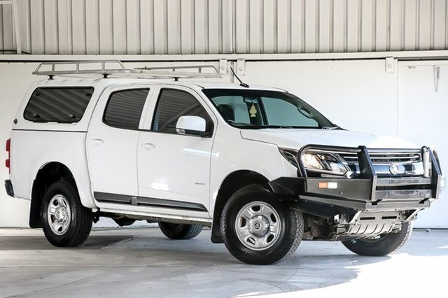 Used Holden Colorado RG MY17 LS Pickup Crew Cab, 2016 Holden Colorado RG MY17 LS Pickup Crew Cab White 6 Speed Sports Automatic Utility