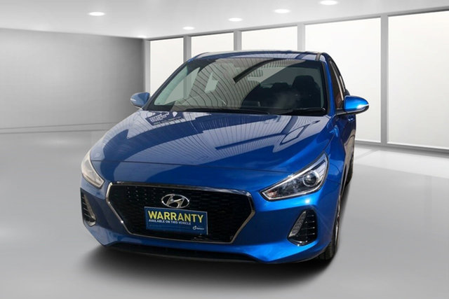 Used Hyundai i30 PD MY18 Active, 2018 Hyundai i30 PD MY18 Active Blue Mica 6 Speed Sports Automatic Hatchback