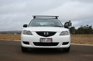 2006 Mazda 3 BK Neo White 4 Speed Auto Activematic Sedan