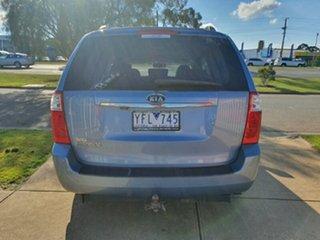 2011 Kia Grand Carnival VQ MY11 SLi Blue 6 Speed Sports Automatic Wagon