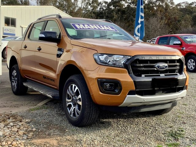 Used Ford Ranger PX MkII 2018.00MY Wildtrak Double Cab, 2018 Ford Ranger PX MkII 2018.00MY Wildtrak Double Cab 6 Speed Manual Utility
