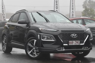 2019 Hyundai Kona OS.3 MY20 Highlander 2WD Phantom Black 6 Speed Sports Automatic Wagon.