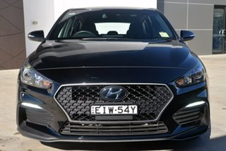 2018 Hyundai i30 PD.3 MY19 N Line D-CT Black 7 Speed Sports Automatic Dual Clutch Hatchback