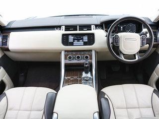2014 Land Rover Range Rover LW Sport 3.0 SDV6 Autobiography Mariana Black 8 Speed Automatic Wagon