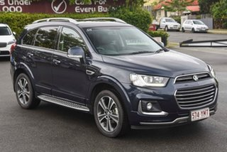 2018 Holden Captiva CG MY18 LTZ AWD Blue 6 Speed Sports Automatic Wagon.