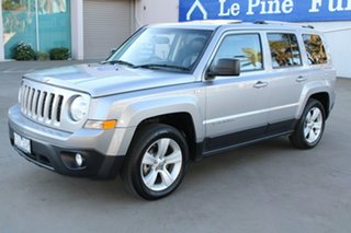 2016 Jeep Patriot MK MY16 Limited (4x4) Silver 6 Speed Automatic Wagon.