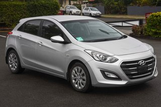 2016 Hyundai i30 GD4 Series II MY17 Active DCT Silver 7 Speed Sports Automatic Dual Clutch Hatchback.