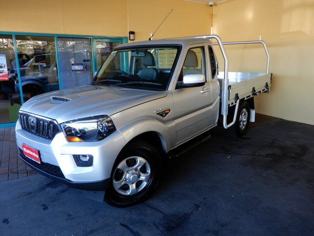 New Mahindra Pik-Up S6 MY18 4WD, 2019 Mahindra Pik-Up S6 MY18 4WD Silver 6 Speed Manual Cab Chassis