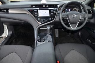 2019 Toyota Camry White 6 Speed Automatic Sedan.