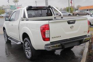 2019 Nissan Navara D23 S4 MY19 ST-X King Cab White Diamond 7 Speed Sports Automatic Utility.