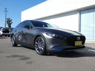 2019 Mazda 3 BP2HLA G25 SKYACTIV-Drive GT Grey 6 Speed Sports Automatic Hatchback.