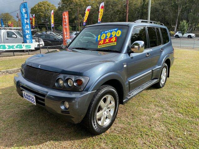 Used Mitsubishi Pajero NP MY06 VR-X, 2006 Mitsubishi Pajero NP MY06 VR-X Blue 5 Speed Sports Automatic Wagon