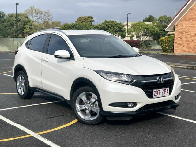 Used Honda HR-V MY15 VTi-S, 2015 Honda HR-V MY15 VTi-S White 1 Speed Constant Variable Hatchback