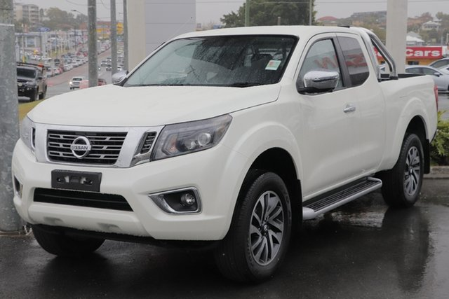 Demo Nissan Navara D23 S4 MY19 ST-X King Cab Newstead, 2019 Nissan Navara D23 S4 MY19 ST-X King Cab White Diamond 7 Speed Sports Automatic Utility