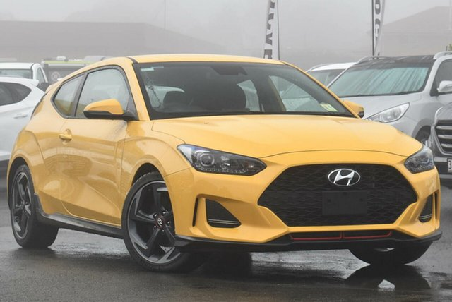 Demo Hyundai Veloster JS MY20 Turbo Coupe D-CT Toowoomba, 2019 Hyundai Veloster JS MY20 Turbo Coupe D-CT Thunder Bolt 7 Speed Sports Automatic Dual Clutch