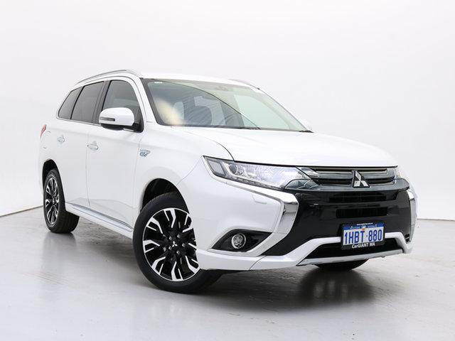 Used Mitsubishi Outlander ZK MY17 LS PHEV, 2017 Mitsubishi Outlander ZK MY17 LS PHEV White 1 Speed Automatic Wagon