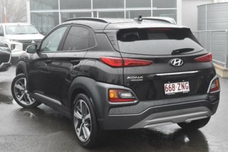 2019 Hyundai Kona OS.3 MY20 Highlander 2WD Phantom Black 6 Speed Sports Automatic Wagon
