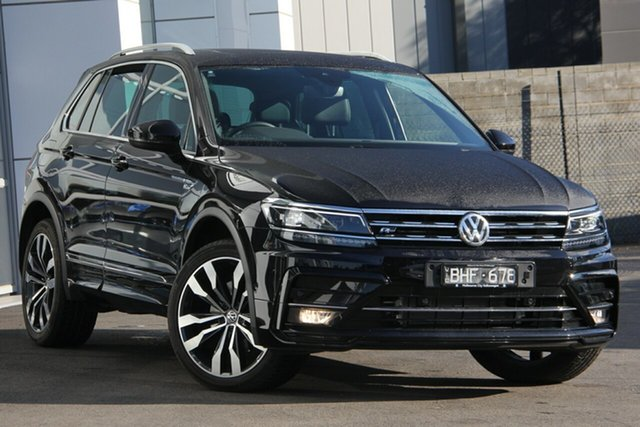 Demo Volkswagen Tiguan 5N MY20 162TSI DSG 4MOTION Highline, 2020 Volkswagen Tiguan 5N MY20 162TSI DSG 4MOTION Highline Black 7 Speed