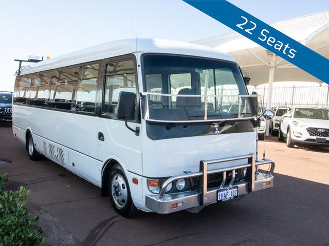 Used Mitsubishi Fuso Rosa BE64D Base, 2011 Mitsubishi Fuso Rosa BE64D Base White Bus