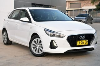 2018 Hyundai i30 PD MY18 Go D-CT White 7 Speed Sports Automatic Dual Clutch Hatchback.