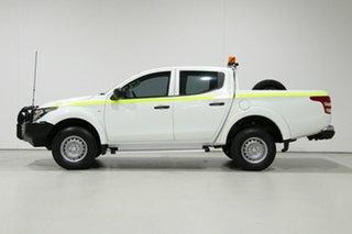 2016 Mitsubishi Triton MQ MY17 GLX (4x4) White 5 Speed Automatic Dual Cab Utility