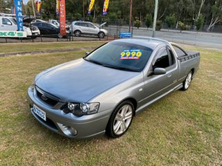 2006 Ford Falcon BF XR6 Ute Super Cab Grey 4 Speed Sports Automatic Utility.