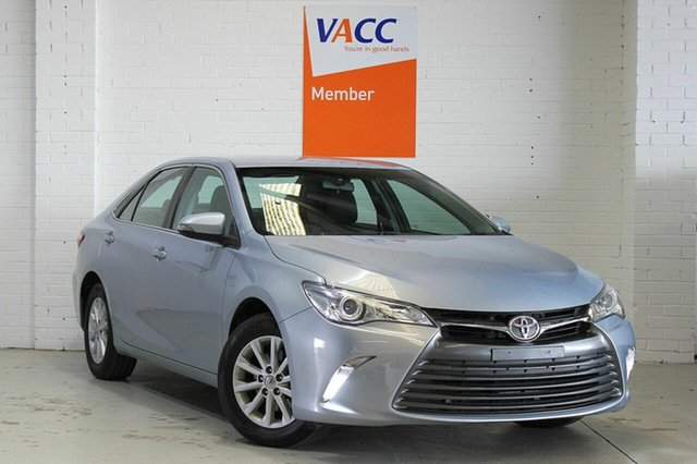 Used Toyota Camry ASV50R Altise, 2017 Toyota Camry ASV50R Altise Blue 6 Speed Sports Automatic Sedan