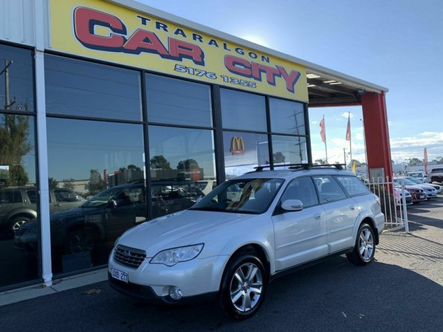 Used Subaru Outback MY07 2.5i AWD, 2007 Subaru Outback MY07 2.5i AWD White 5 Speed Manual Wagon