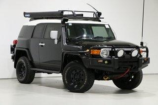 2013 Toyota FJ Cruiser GSJ15R MY13 Update Black 5 Speed Automatic Wagon.