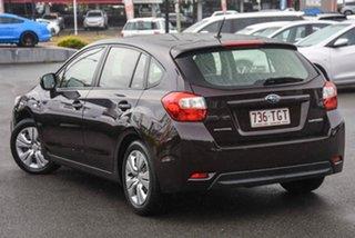 2013 Subaru Impreza G4 MY13 2.0i Lineartronic AWD Maroon 6 Speed Constant Variable Hatchback.
