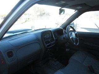 2011 Nissan Navara D22 DX White 5 Speed Manual Trayback