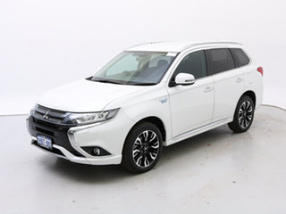 2017 Mitsubishi Outlander ZK MY17 LS PHEV White 1 Speed Automatic Wagon