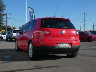 2008 Volkswagen Golf V MY08 GT DSG Sport Red 6 Speed Sports Automatic Dual Clutch Hatchback