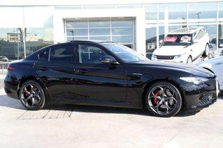 2016 Alfa Romeo Giulia Veloce Black 8 Speed Sports Automatic Sedan.