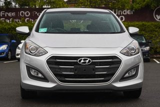 2016 Hyundai i30 GD4 Series II MY17 Active DCT Silver 7 Speed Sports Automatic Dual Clutch Hatchback