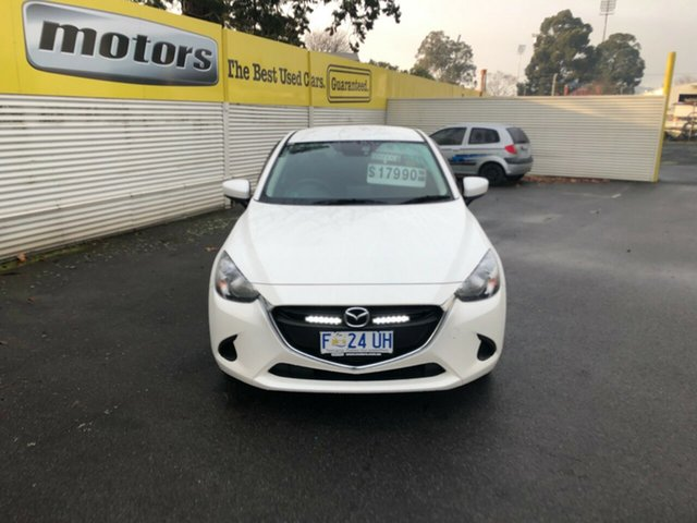 Used Mazda 2 DL2SAA Maxx SKYACTIV-Drive, 2017 Mazda 2 DL2SAA Maxx SKYACTIV-Drive White 6 Speed Sports Automatic Sedan