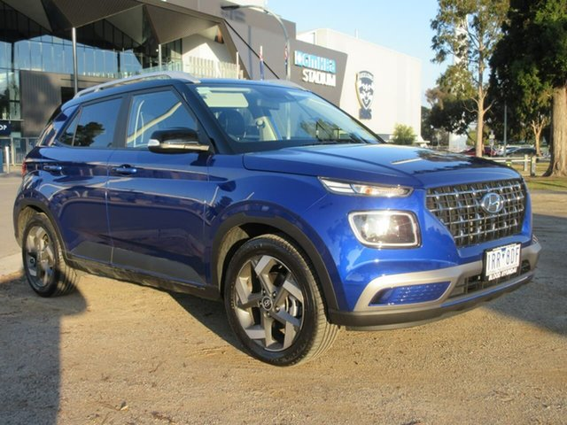 Demo Hyundai Venue QX Elite, 2020 Hyundai Venue QX Elite Blue Automatic Wagon