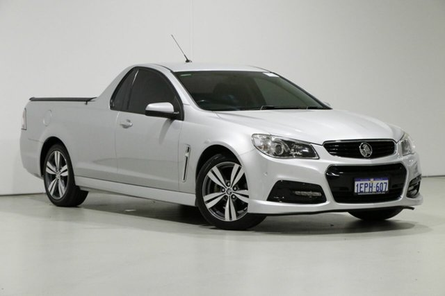 Used Holden Ute VF SV6, 2014 Holden Ute VF SV6 Silver 6 Speed Automatic Utility