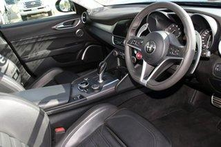 2016 Alfa Romeo Giulia Veloce Black 8 Speed Sports Automatic Sedan