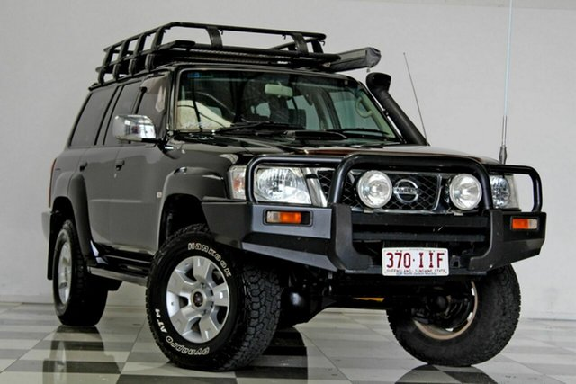 Used Nissan Patrol GU IV ST (4x4), 2004 Nissan Patrol GU IV ST (4x4) Black 5 Speed Manual Wagon