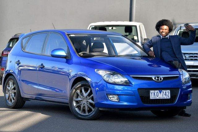 Used Hyundai i30 FD MY11 SX, 2011 Hyundai i30 FD MY11 SX Blue 4 Speed Automatic Hatchback