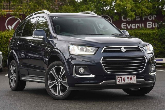 Used Holden Captiva CG MY18 LTZ AWD, 2018 Holden Captiva CG MY18 LTZ AWD Blue 6 Speed Sports Automatic Wagon