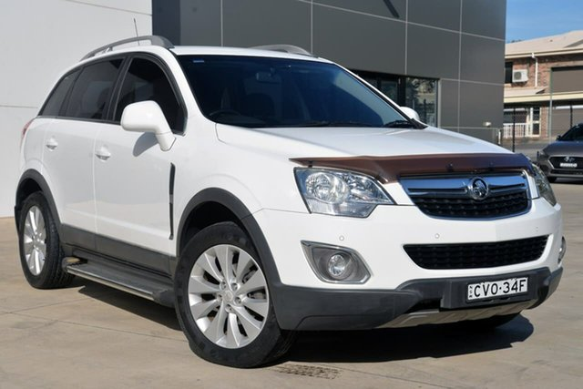 Used Holden Captiva CG MY14 5 LT, 2014 Holden Captiva CG MY14 5 LT White 6 Speed Manual Wagon