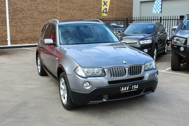 Used BMW X3 E83 MY09 xDrive 20d Lifestyle Hoppers Crossing, 2009 BMW X3 E83 MY09 xDrive 20d Lifestyle Grey 6 Speed Auto Steptronic Wagon