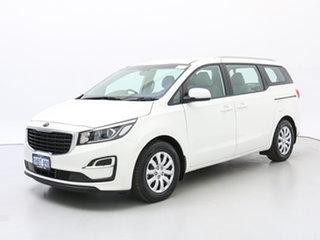 2019 Kia Carnival YP PE MY20 S White 8 Speed Automatic Wagon.